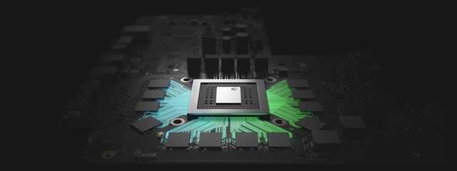 Xbox One X chipset
