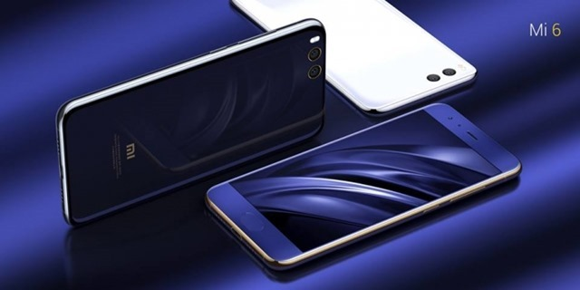 Xiaomi Mi 6 official colours 2