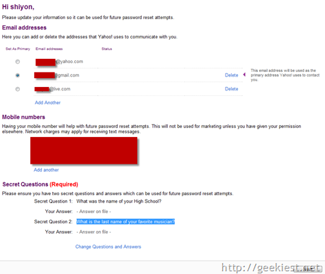 how to steal yahoo email password