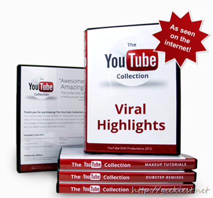 YouTube Collections available to Order, order your copy today