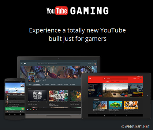 YouTube Gaming–YouTube for Gamers