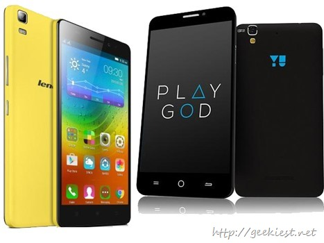 Yu Yureka Vs Lenovo A7000–INR 8999 phones