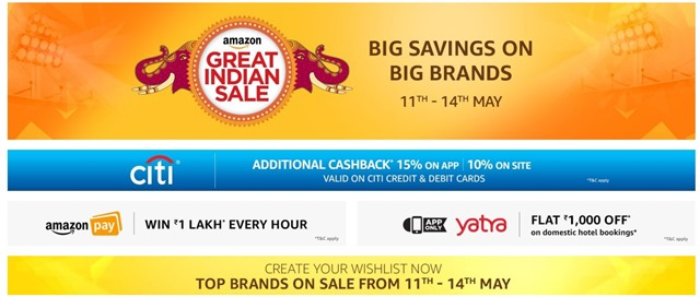 amazon great indian sale may 2017 a