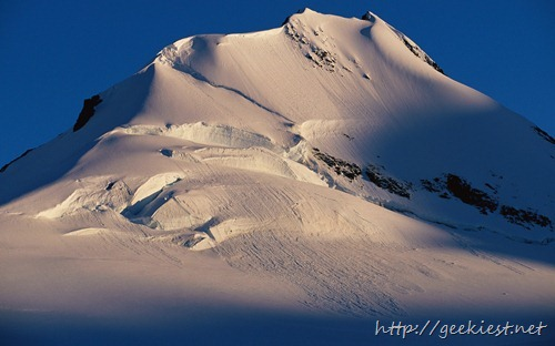 Mountain Peak on Wiencke Island, Antarctica