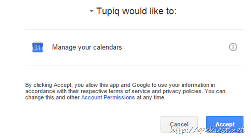 approve google access