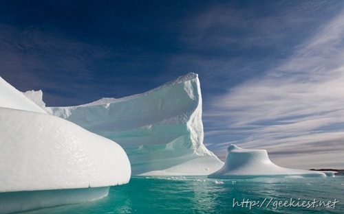 Icebergs in Greenland, Alluitsup Paa, Greenland