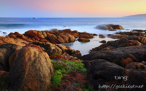 The Canal Rocks formation in the Leeuwin-Naturaliste National Park, Western Australia, Australia