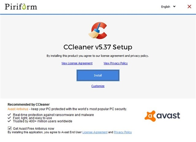 ccleaner-avast-bundled adware