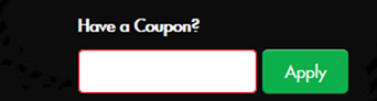 coupon code apply