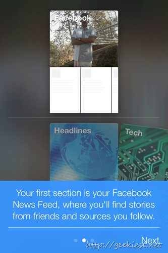 facebook Paper for iOS 3