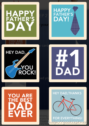 greeting cards fathers day