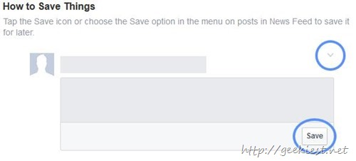 how to save facebook