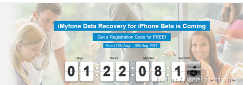 iMyfone Data Recovery for iPhone– get a free license code