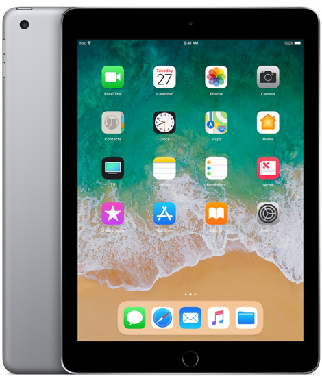 iPad-9-7-inch 2018 Space Gray