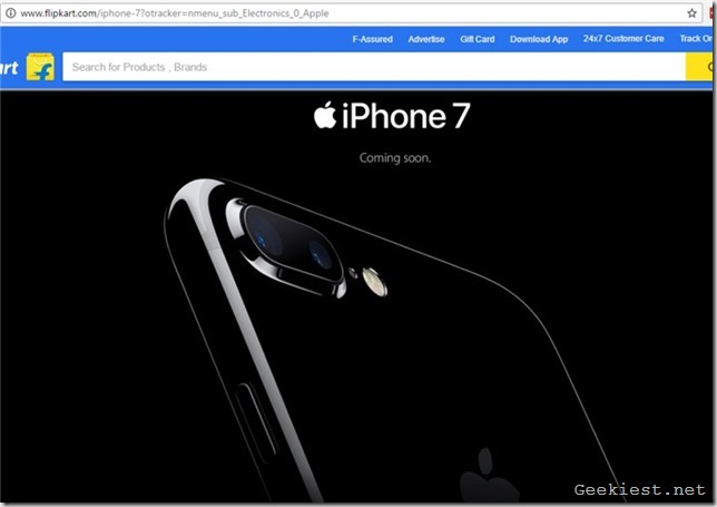 iPhone 7 Plus India pre-order