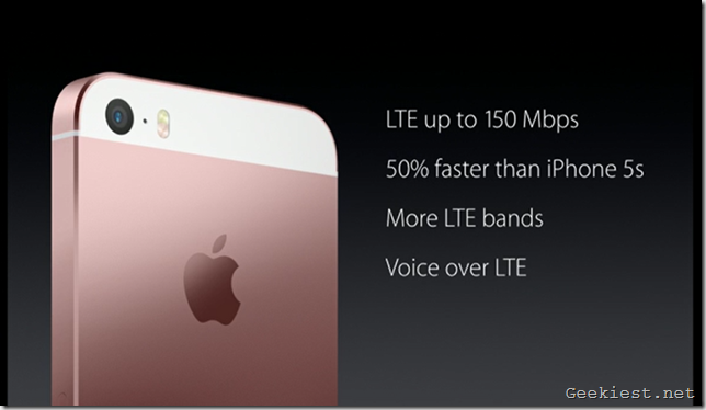 iPhone SE LTE