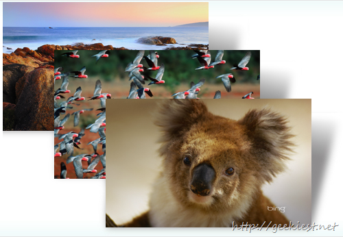 Best of Bing: Australia 2 theme