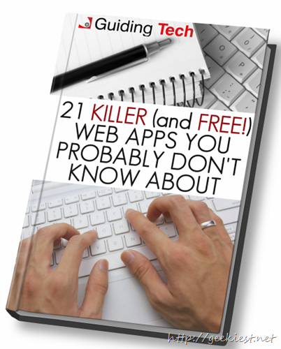 Free eBook – 21 Killer (and Free) Web Apps You Probably Don't Know About
