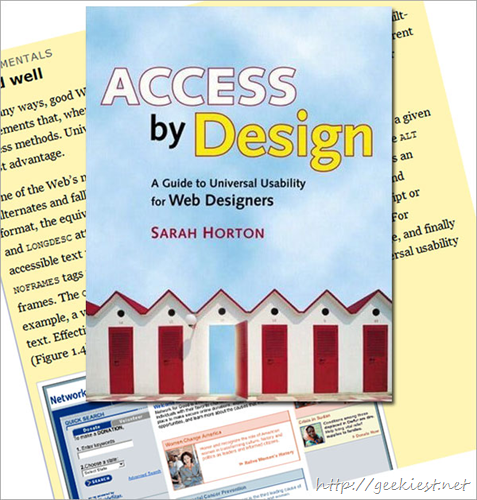 Access by Design by Sarah Horton