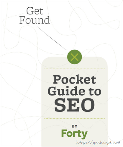 Pocket Guide to SEO by Forty