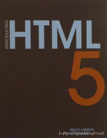 Introducing HTML5 Book