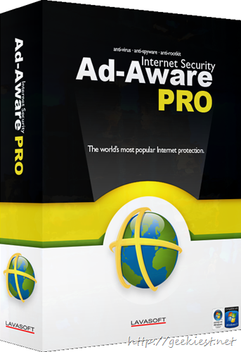 Geekiest Giveaway Triweek- Day 16 -Ad-Aware Pro Internet Security Review and Giveaway