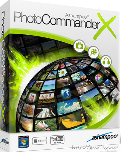 Ashampoo Photo Commander 10 Review and Giveaway 10 full version licenses