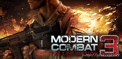 Free Modern Combat 3 game for Samsung Users and Free voucher of USD 5