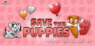Free Android Game -Save the Puppies