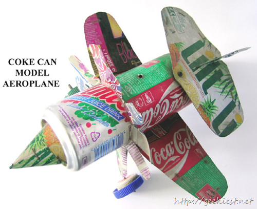 Coke-can Aeroplane