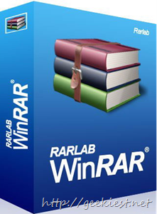 Geekiest Giveaway 2013 Day 3 - Free Ashampoo WinRAR full version licenses