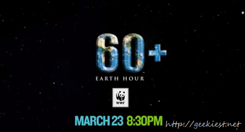 Earth Hour - March 23