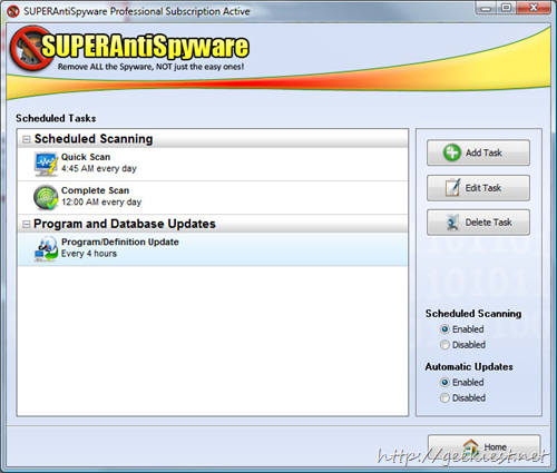 Free SUPERAntiSpyware Professional Edition full version