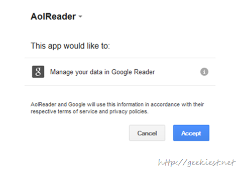 Aol Reader Beta