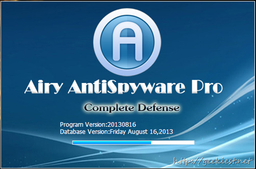 Airy AntiSpyware Database update