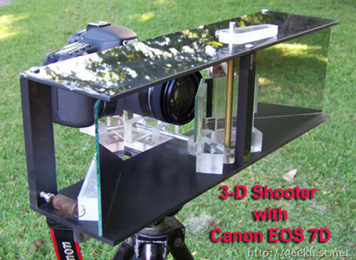 3D shooter with Single Camera