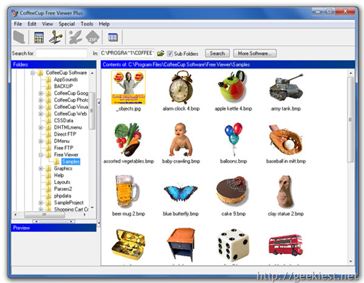 Free Image viewers for Windows - Coffeecup Free Image Viewer