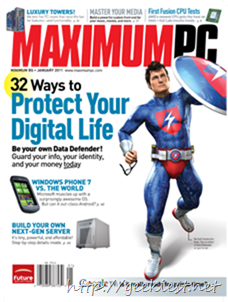 January 2011: 32 Ways to Protect Your Digital Life