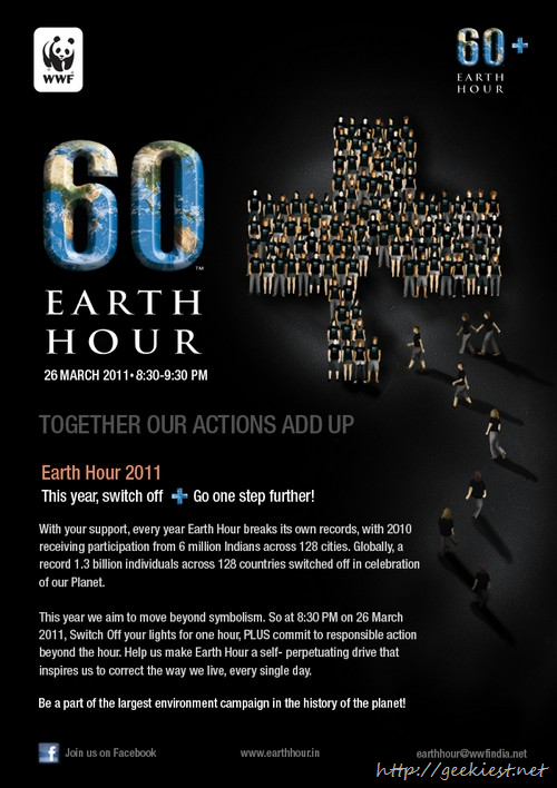 Support Earth Hour 2011