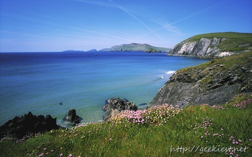 Slea Head and Blasket Islands, County Kerry, Ireland
