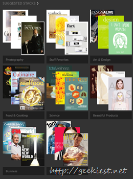 issuu suggested stacks