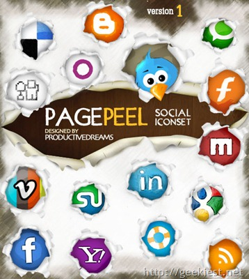 pagepeel-free-social-iconset