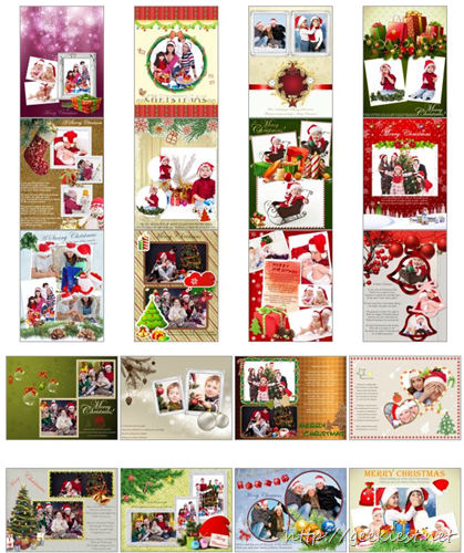 picture collage maker Christmas Templates