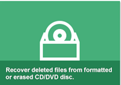 recover from CD DVD