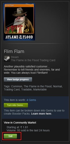 sell steam cards