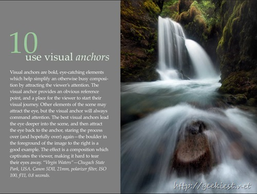 tip 10 use visual achors