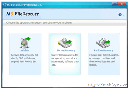 Free M3 FileRescuer Professional License Giveaway