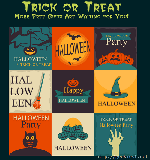 trick or treat free gifts