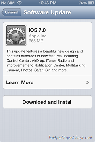 upgrade to iOS7    Screenshots 4