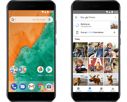 xiaomi mi a1 android one google